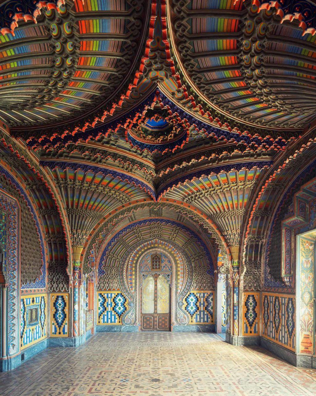 la sala dei pavoni